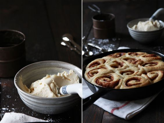Cast Iron Cinnamon Buns