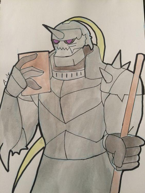 Alphonse Elric full metal alchemist