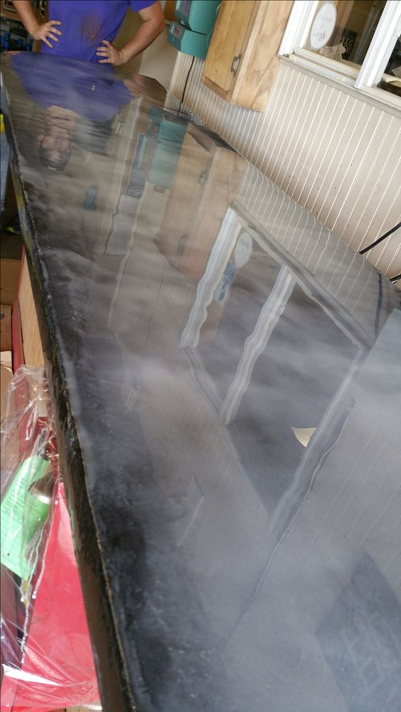 Three Step Countertop Metallic Epoxy Kit Pearls Epoxy