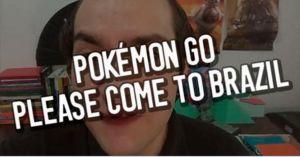 Desabafo de brasileiro que só queria jogar Pokémon Go