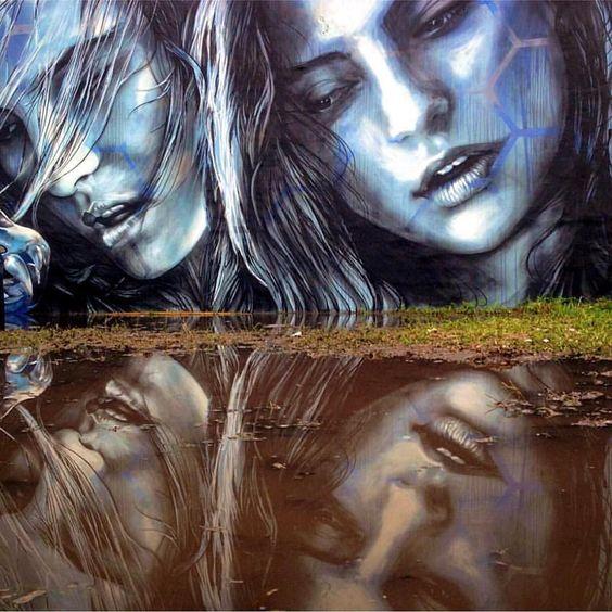 Reflect. #Repost @streetartglobe  @starfightera and @fanakapan in Miami. #beautifyearth #streetart #streetphotography #sprayart  #urbanart #urbanwalls #wallporn #graffitiigers #stencilart #art #graffiti #instagraffiti #instagood #artwork #mural #graffitiporn #photooftheday #stencil #streetartistry #stickerart #pasteup #instagraff #instagrafite #streetarteverywhere