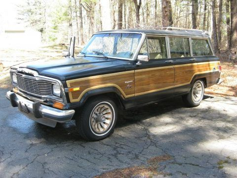 1983 Jeep Wagoneer Limited With Images Jeep Wagoneer Jeep Classic Jeeps
