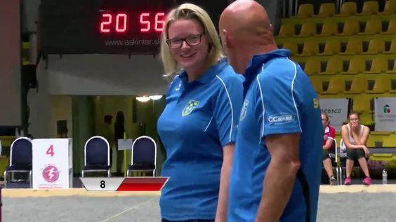 European Championship 2016   Women's Sweden petanque   Qualification of ...