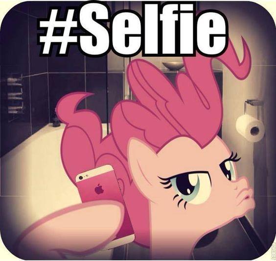 #pinkiepieselfie