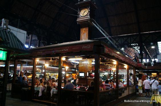 Mercado de Puerto, Montevideo, Uruguay