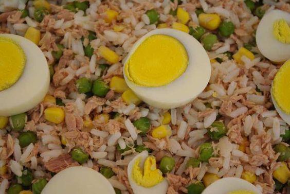 Salada de Arroz - 1001 Receitas Fáceis