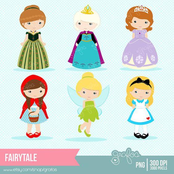 Princesas Clipart