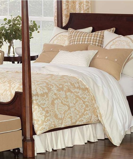 Go no further than our Churchill Bedding Collection for a comfortable, cottage ambiance for your master bedroom.