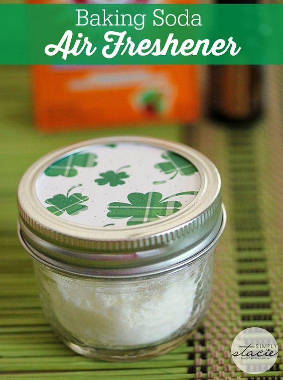 Air freshener baking soda and sodas on pinterest for Baking soda air freshener recipe