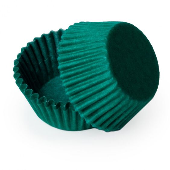 Green Mini Solid Cupcake Liners, 500-pack  (($))