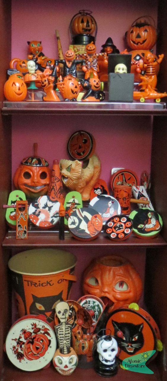 Antique Halloween Collection Vintage Halloween
