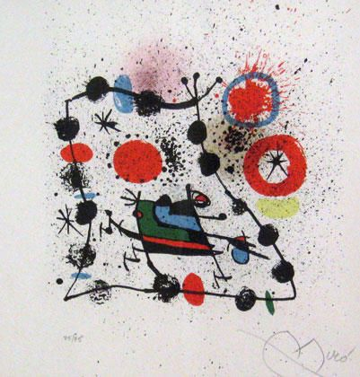 Catalogo Para La Exposicion 1970 Limited Edition Print - Lithograph Hand Signed - Lower right Size - 13 x 13 Hanson Art Galleries auction. Condition - Excellent Asking Price: $6,300