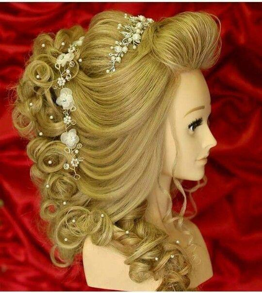 Beautyparlorsupplies Pakistani Bridal Makeup Hairstyles Beauty Parlour Hair Style Course Hair