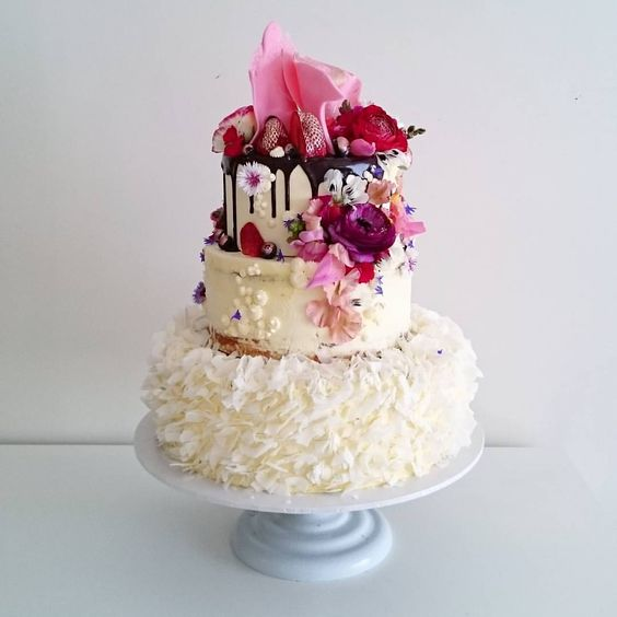 Lily Pink Bakery Wedding Cake Instagram