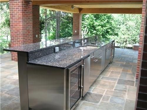 Stainless Steel Outdoor Kitchens Popular Stainless Steel Outdoor