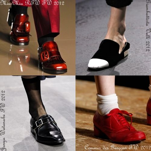 Sapatos de passarela - Catwalk's shoes