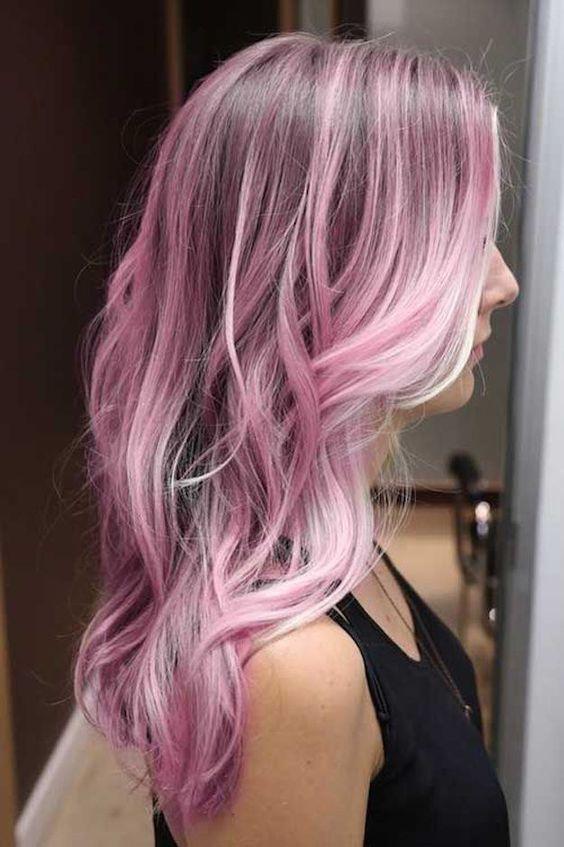 Rosa maldosa. | 32 Looks que te harán salir corriendo a pintarte el pelo