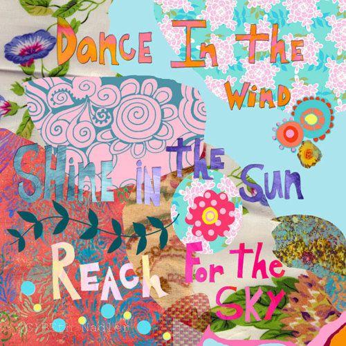 dance, shine, reach.