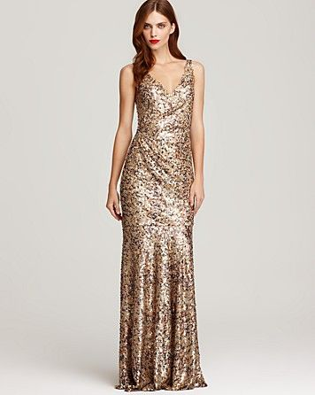 gold sequin wedding gown? why not? | I'm getting married ...