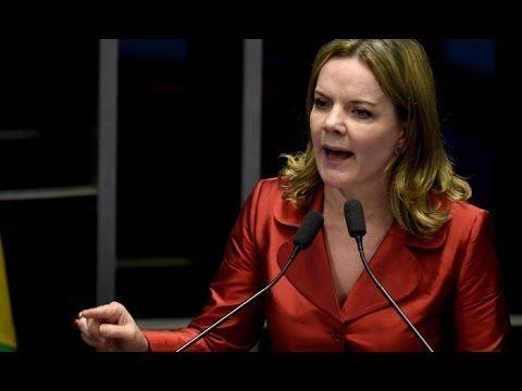 Renan Calheiros humilha Gleisi Hoffmann e enlouquece bancada petista