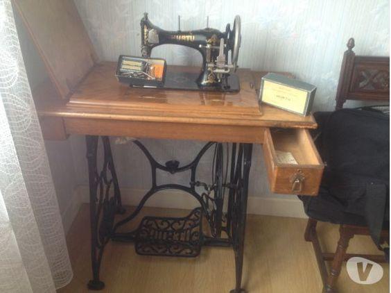 ancienne machine à coudre à pédale