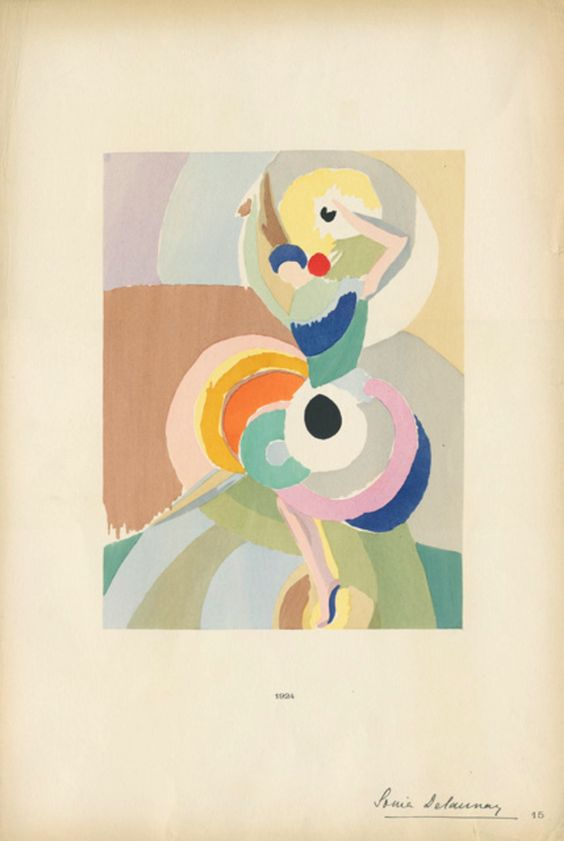 I love this Sonia Delaunay painting!