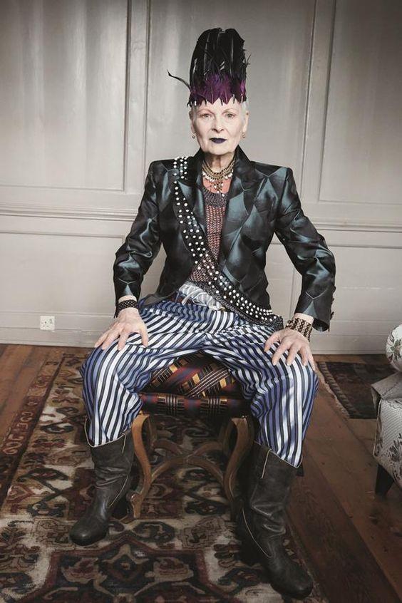 Vivienne Westwood Book - Halloween Costume Inspiration - Style.com