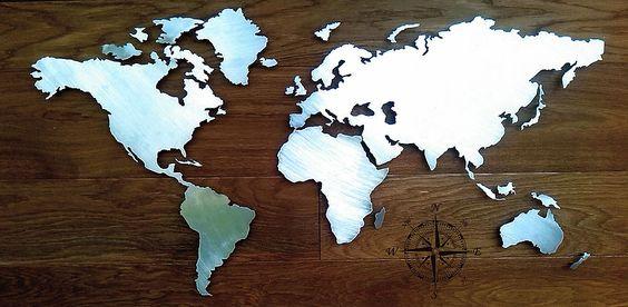 cnc-abel-design | Blechbearbeitung world map