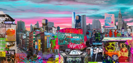 NYC Roof tops - Sandra Rauch - Bilder, Fotografie, Foto Kunst online bei LUMAS