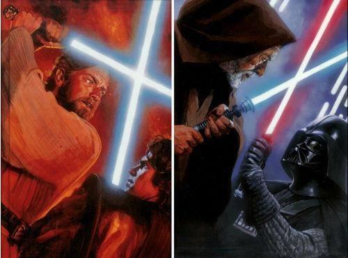 Obi-Wan Kenobi and Anakin Skywalker (Darth Vader) | Star ...