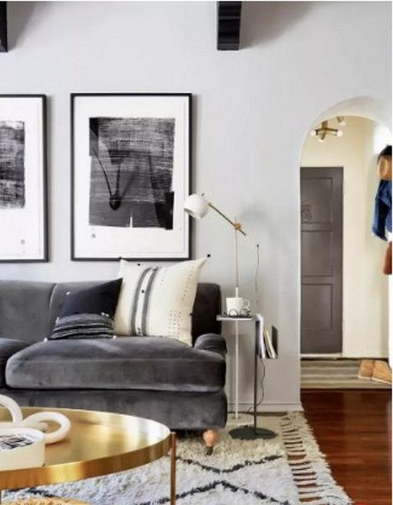 24 Small Space Decorating Mistakes To Avoid Luxury Home Decor Trick And Tips Gray Living Room Design Grey Sofa Living Room Gold Living Room
