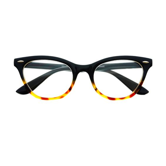 designer fashion pearls clear lens oversized glasses