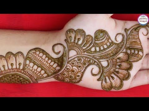 easy mehndi designs for hands for beginners