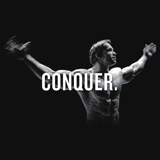 Arnold Schwarzenegger Conquer Wallpaper Arnold Motivation Arnold Schwarzenegger Conquer Arnold Schwarzenegger Bodybuilding