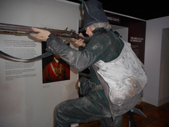 95th Rifleman Uniform at Green Jackets Museum Winchester ...