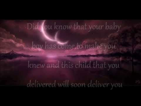 Cee Lo Green - Mary did you know lyrics. beautiful song, sung ...