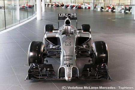 McLaren Mercedes 2014 MP4-29