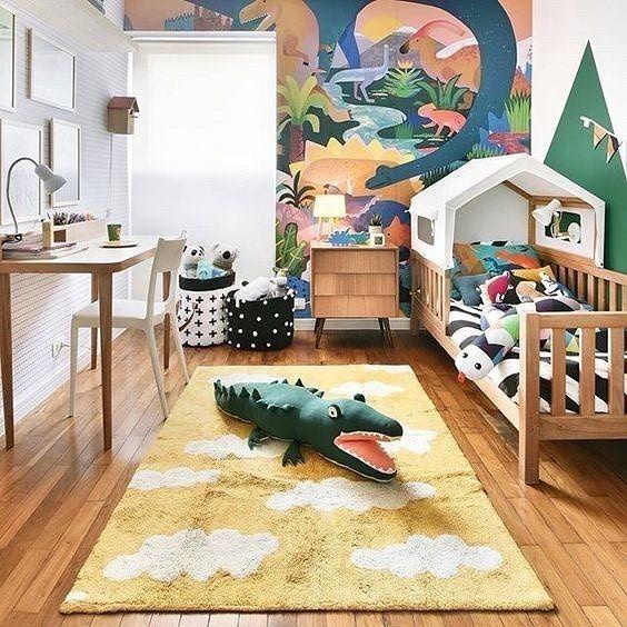 47 Best Dinosaur Bedroom Children Inspiration Kid Room Decor Kids Room Design Home Wallpaper