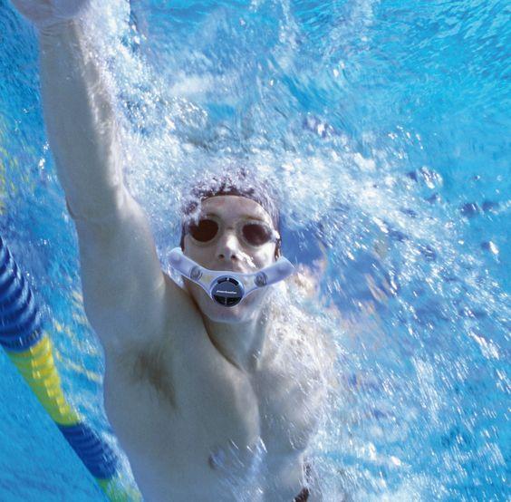 respirador natación: