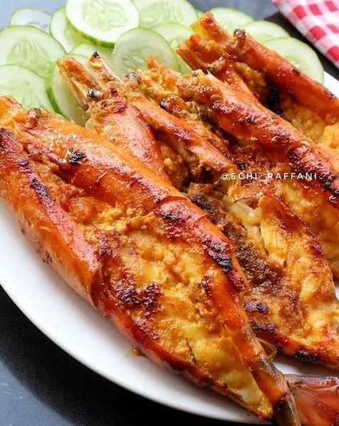 Udang Gala Bakar Teflon Resep Masakan Masakan Resep