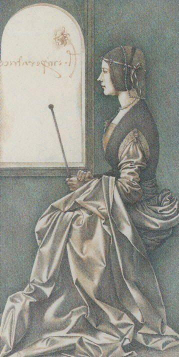 The Empress - Da Vinci Tarot