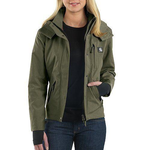 Carhartt Women&39s Waterproof Breathable Jacket:Amazon:Clothing