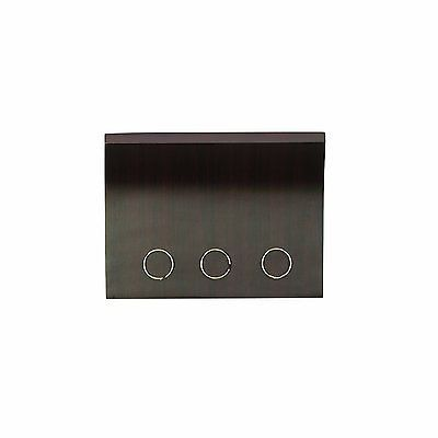 Umbra Magnetter Key Panel & Letter Holder ESPRESSO wood Wall-Mount Organizer
