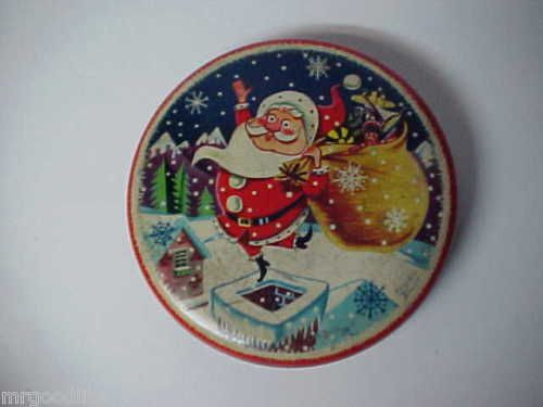 Old England HOLLANDS Toffee Candy Christmas Tin | eBay