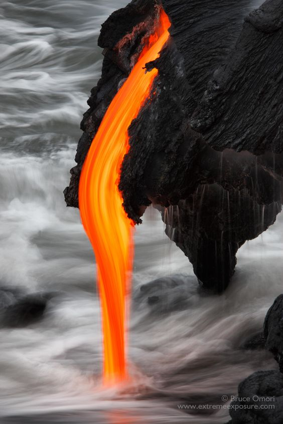 Taffy Twist.  Molten lava is just so incredible, the way it moves, the shapes it forms, and textures it creates…  incomprehensibly so dynamic, and infinitely so beautiful.