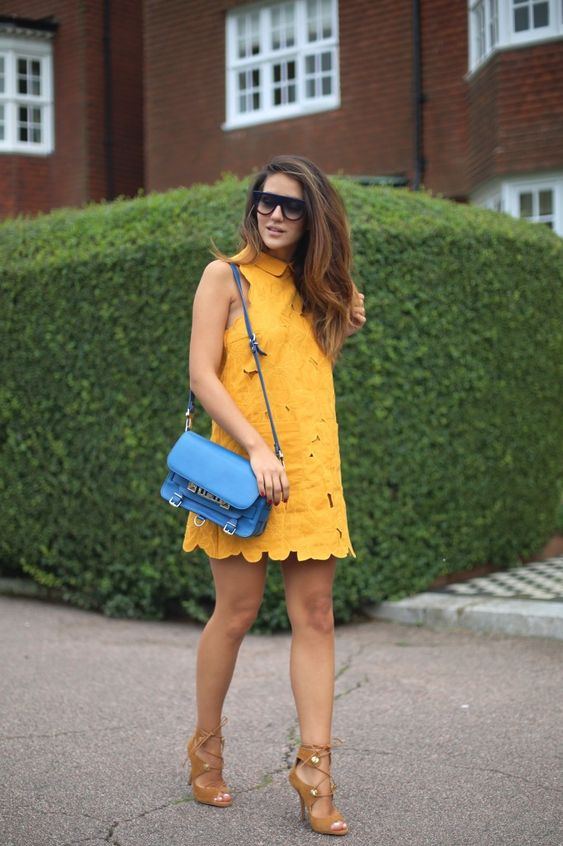Mustard is such a pretty colour and it's perfect for autumn!
