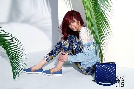 Corgi Lookbook SS15 Model / Kea Lee Outfits & Styling / Corgi Make up & Hair / Shawn Goh Photography / Darren Loke