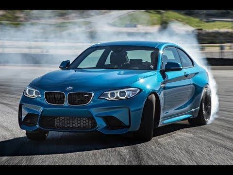 Bmw M2 Competition Drift Burnout And Brutal Revs Youtube