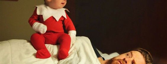 Este creativo papá transforma a su bebé de 4 meses de edad en un elfo (Fotos) #viral