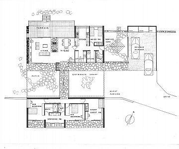 Floor plan for Hutter House  Turramurra      SEIDLER    Floor plan for Hutter House  Turramurra      SEIDLER   Pinterest   Floor Plans  House and Floors
